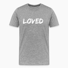Heather grey loved T-Shirts