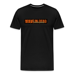 Mens WAVE black - Men's Premium T-Shirt