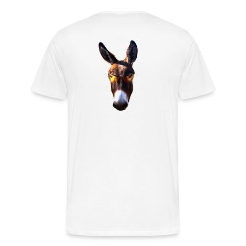 Poker Life Donkey - Men's Premium T-Shirt