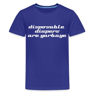disposable diapers - Kids' Premium T-Shirt