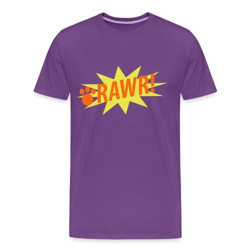 RAWR! T-Shirt for Men - Men's Premium T-Shirt
