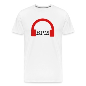 BPM Headphone 1 - Men's Premium T-Shirt