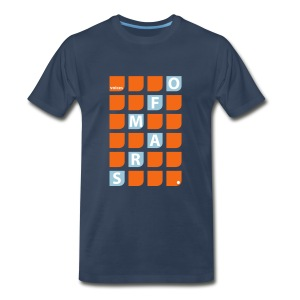 Voices of Mars - Square-O T-Shirt for Men - Men's Premium T-Shirt