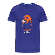 T-Shirts ~ Men's Premium T-Shirt ~ Royal Blue Crash T-Shirt