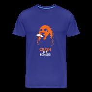 T-Shirts ~ Men's Premium T-Shirt ~ Royal Blue Crash T-Shirt