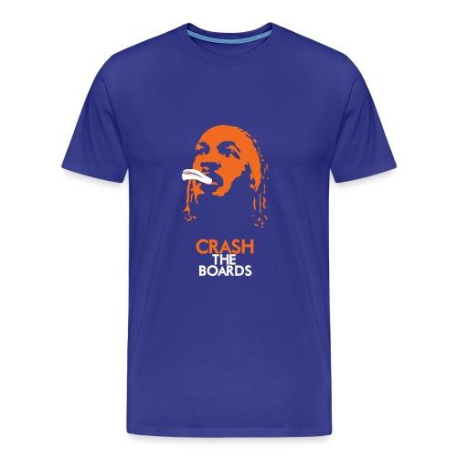 Royal Blue Crash T-Shirt - Men's Premium T-Shirt