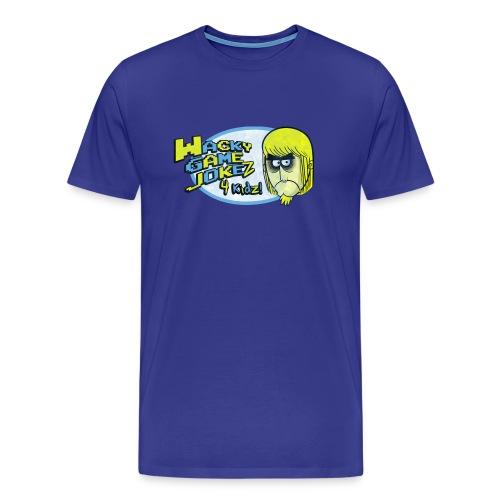 WGJ4K Logo+Mickey tee - Men's Premium T-Shirt