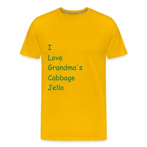 Cabbage jello - Men's Premium T-Shirt