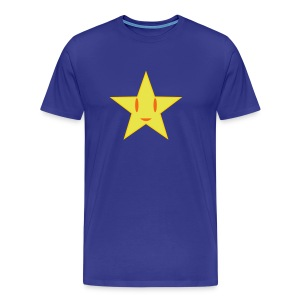 Starry Side Up  T-Shirt for Men - Men's Premium T-Shirt