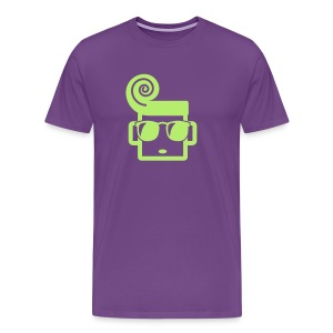 Shades Tee  - Light Green  for Men - Men's Premium T-Shirt