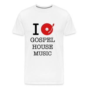 I Spin Gospel House Music - Men's Premium T-Shirt