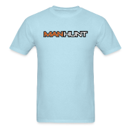 T-Shirts ~ Men's T-Shirt ~ Sky Blue Manhunt Tee