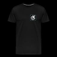 T-Shirts ~ Men's Premium T-Shirt ~ K Logo - Men's T (off-centered)