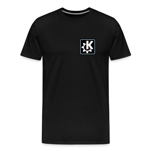 K Logo - Men's T (off-centered) - Men's Premium T-Shirt