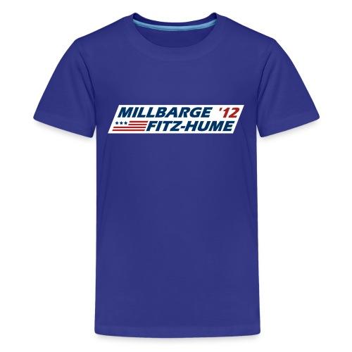 Millbarge - Fitz-Hume 2012 - Kids' Premium T-Shirt