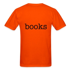 Lessthan3Books (2-Sided) - Men's T-Shirt