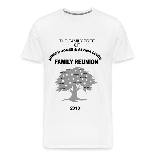 Jones - Lewis Reunion 2010 - Men's Premium T-Shirt