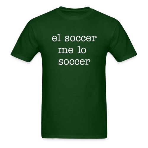 camisa pal mundial - Men's T-Shirt