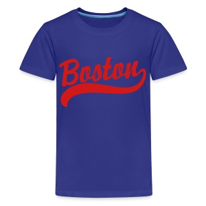 Boston Casey Script Children's T-Shirt - Kids' Premium T-Shirt