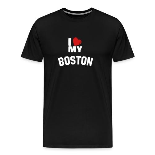 I love my Boston - Men's Premium T-Shirt