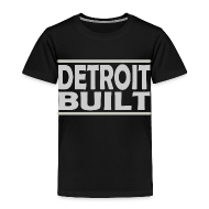 Baby & Toddler Shirts ~ Toddler Premium T-Shirt ~ Detroit Clothing Built Toddler T-Shirt
