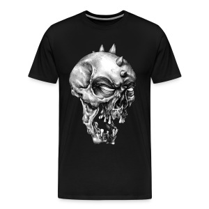 Spikey Skull - Men's Premium T-Shirt