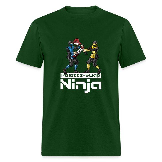 "Palette-Swap Ninja - ""Halo"" lyric dark"