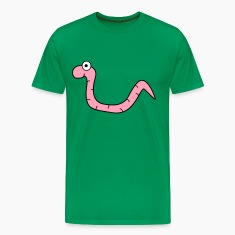 Kelly green Worm T-Shirts