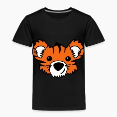 Black Tiger Cub Toddler Shirts