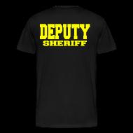 T-Shirts ~ Men's Premium T-Shirt ~ DEPUTY SHERIFF RAID T SHIRT