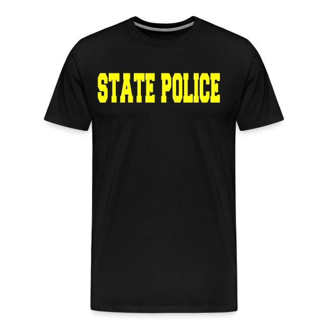18b0aa56c71c5 STATE POLICE RAID T SHIRT