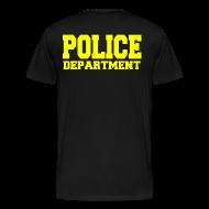 T-Shirts ~ Men's Premium T-Shirt ~ POLICE DEPARTMENT RAID SHIRT