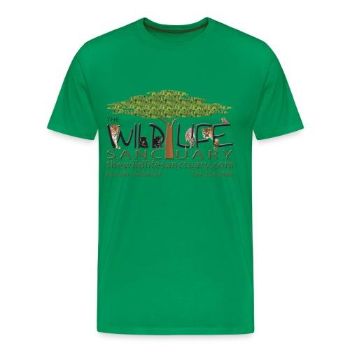 Men's Heavyweight T-Shirt with Logo - Men's Premium T-Shirt