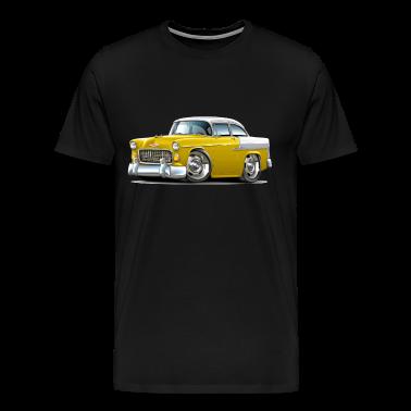 1955 Chevy Belair Yellow Car