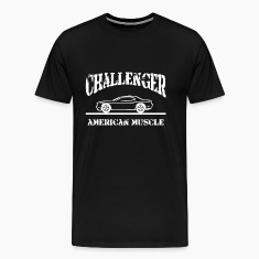 Dodge Challenger American Muscle Car T-Shirts