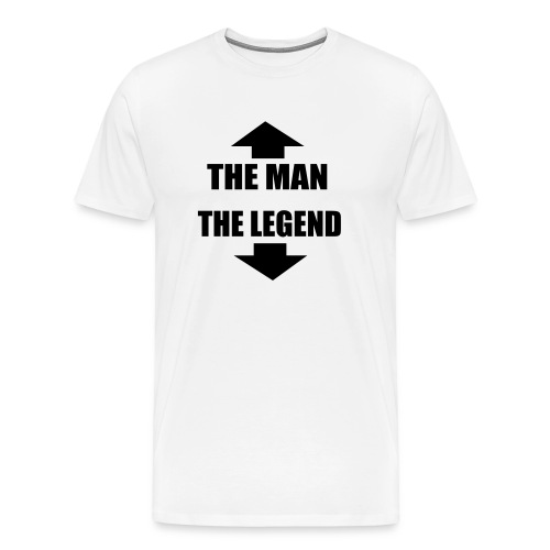 The man - The Legend - Men's Premium T-Shirt