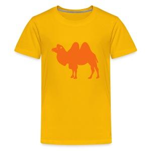 t-shirt camel dromedary desert oasis caravan australia animal - Kids' Premium T-Shirt