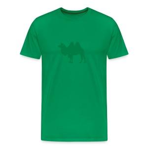 t-shirt camel dromedary desert oasis caravan australia animal - Men's Premium T-Shirt