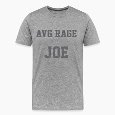 AVERAGE JOE FOOTBALL 2012 LOGO VINTAGE LOGO T SHIRT