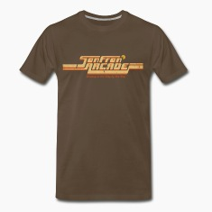 Brown SanFran Arcade (for dark shirts) T-Shirts