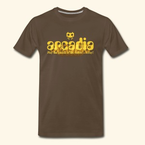 Fictional Arcades: arcadia - Men's Premium T-Shirt