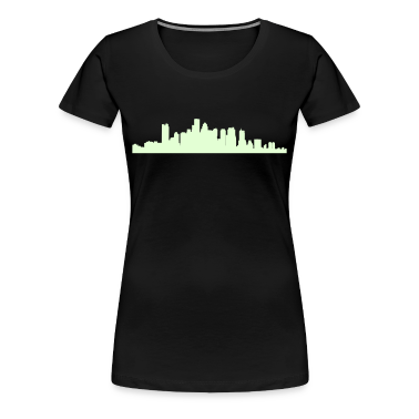 Black boston_skyline Plus Size