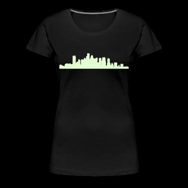 Black boston_skyline Plus Size