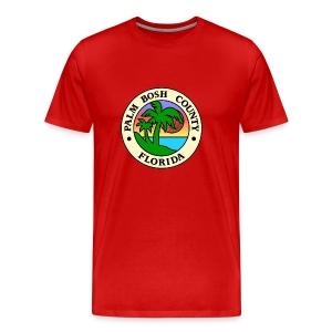 Palm Bosh County - Men's Premium T-Shirt