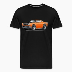 1968 Dodge Coronet Super Bee Orange Car T-Shirts
