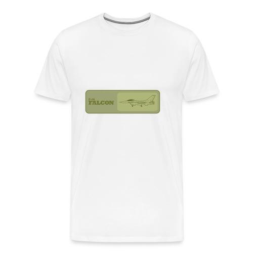 F-16 Falcon T-Shirt - Men's Premium T-Shirt