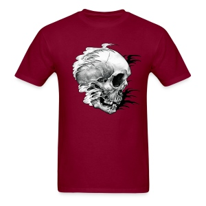 Skull & Waves - Men's T-Shirt