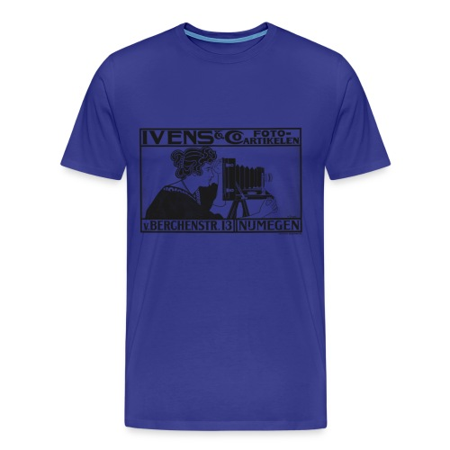 Vintage Camera Ad - Men's Premium T-Shirt