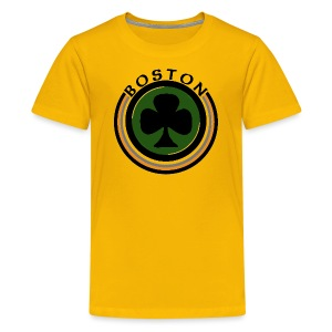 Boston Shamrock Shirt Children's T-Shirt - Kids' Premium T-Shirt