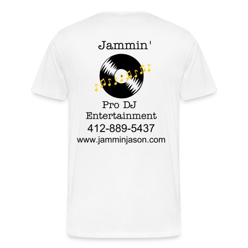 Jammin White T - Men's Premium T-Shirt